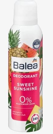 Дезодорант Balea Deodorant Sweet Sunshine 200 мл