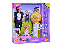 """Кукла, Семья """"Defa Lusy""""с Кеном и 2 пупсика 20973"""