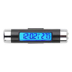 Часы автомобильные ZIRY CT-20 2-in-1 время, температура