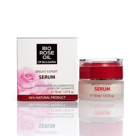 """Сироватка Експерт для відбілювання шкіри """"BIO Rose Oil Of Bulgaria"""" від BioFresh 30 мл, фото 2"""