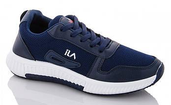 Женские кроссовки Dual ILA Fashion синие демисезонные 37 р. - 24,5 см (1339896662), фото 2