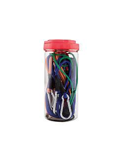 Комплект натяжных ремней 10шт Ultimate SPEED  разноцветный K10-111349