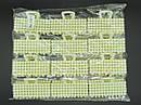 Крабы для волос 7.5 см пластик 12 шт/уп., фото 2