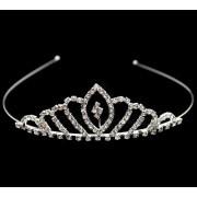 Діадема (корона, тіара) на обручі, довжина 10 см, висота 4 см