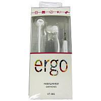 Наушники  ERGO VT-101 white