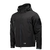 Куртка M-TAC SOFT SHELL с подстежкой - BLACK