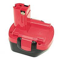 Аккумулятор для шуруповерта Bosch 2607335262 2.0Ah 12V красный
