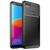 Чехол Carbon Case для Oppo A12 Black