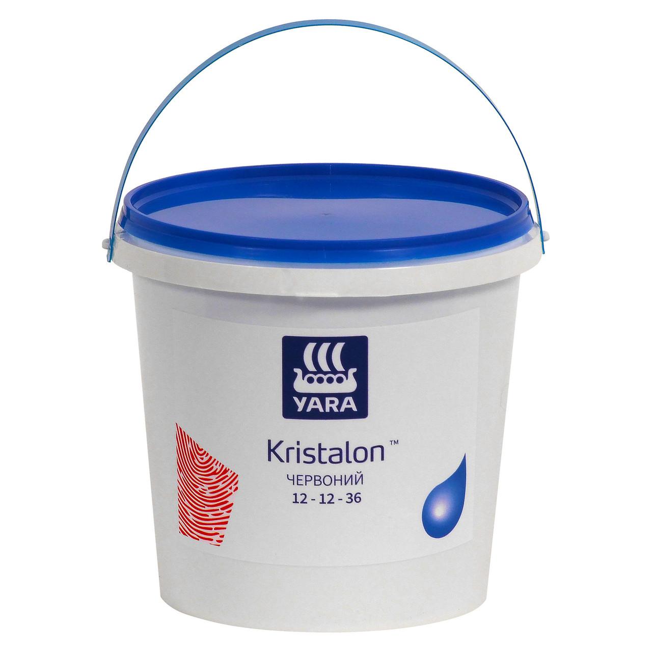 Комплексне водорозчинне добриво Яру Кристалон для полуниці Yara Tera KRISTALON NPK 12-12-36 RED (2,5 кг)