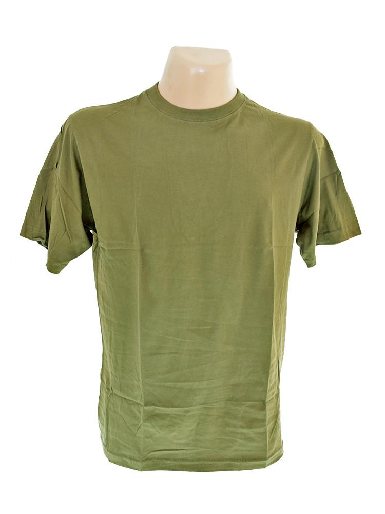 Футболка армейская хаки MIL-TEC Оlive, 11011001
