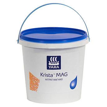 Водорастворимое азотно-магниевое удобрение нитрат магния, Яра Криста Yara Tera KRISTA MAG (2,5 кг)