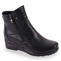 Удобные женские ботинки (кожаные, зимние, на платформе, на замке, теплые)