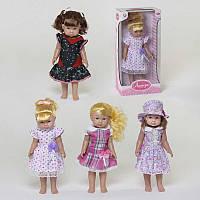 Кукла 66812 А/В/С/D (12/2) 4 вида, 42 см, в коробке