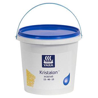 Yara KRISTALON 13-40-13 YELLOW, комплексное водорастворимое удобрение Яра Кристалон Желтый для корней (1,0 кг)