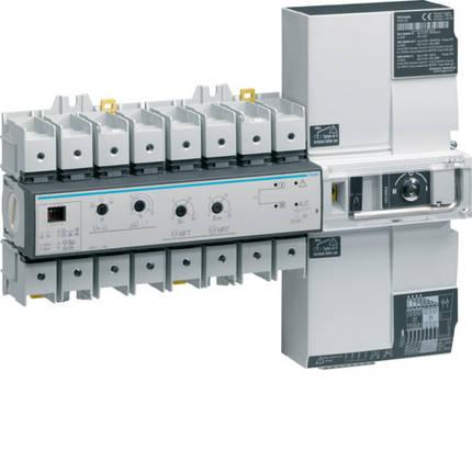 Переключатель АВР модульный с мотоприводом I-0-II, Т-Г, 4п 80А, Hager, фото 2
