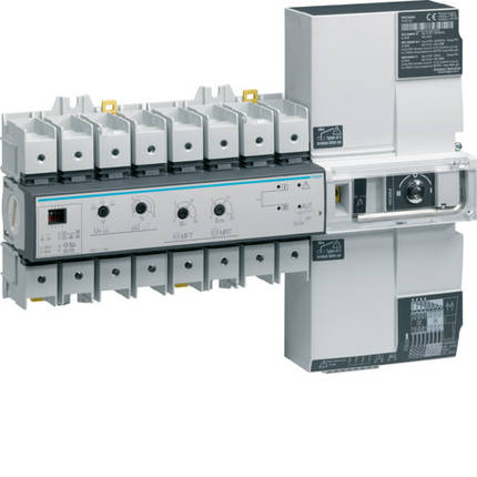 Переключатель АВР модульный с мотоприводом I-0-II, Т-Г, 4п 63А, Hager, фото 2