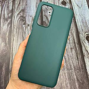 Чехол для Xiaomi Mi 10T / Mi 10T Pro цветной яркий плотный силиконовый чехол на сяоми ми 10т про зеленый
