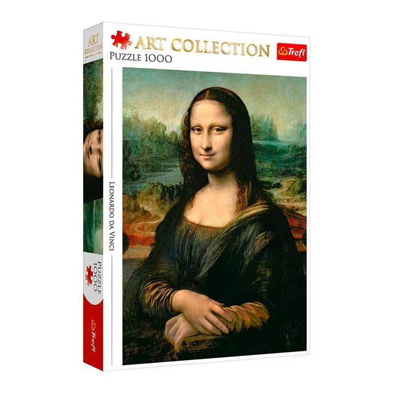 """Пазли Trefl """"Мона Ліза"""" 10542, 1000 елементів"""