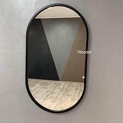 Зеркало в прихожую черное Amot