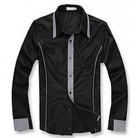 Рубашка мужская Stile XL, Черный