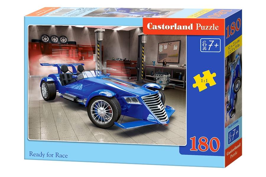 Пазлы Castorland на 180 элементов READY FOR RACE B-018406