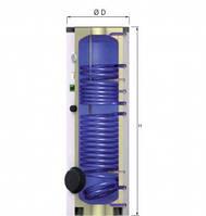 Бойлер косвенного нагрева 200 л. Емкостный водонагреватель Reflex Storatherm Aqua AF 200/2 в Одессе.