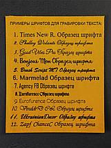 Шкіряний пояс під джинси колір коньяк з пряжкою №3, фото 2