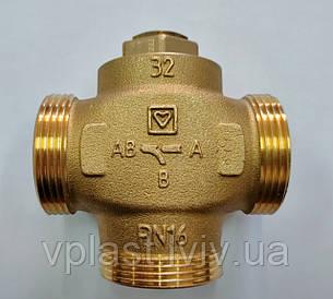 """Клапан трьохходовий термозмішуючий Herz Teplomix DN32 1 1/4"""" (1776614)"""