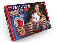"""Набор для творчества """"Fashion Bag"""" вышивка мулине FBG-01-03, 04, 05 тм Danko Toys"""