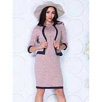 Костюм двойка: платье и пиджак 1 50-52