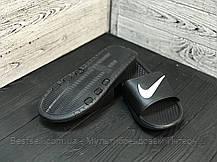 Сланцы мужские Nike черные (шлепки,шлепанцы) (40 последний размер), фото 3