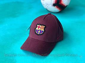 Бейсболка / кепка Барселона/FC Barcelona/мужская/женская/бордовая