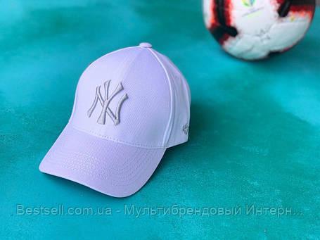 Бейсболка / кепка Нью Йорк Янки/NY Yankees/мужская/женская/белая, фото 2