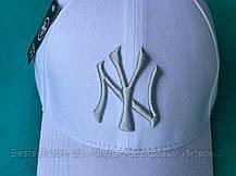 Бейсболка / кепка Нью Йорк Янки/NY Yankees/мужская/женская/белая, фото 3