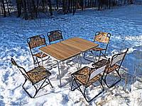 """Складная мебель для дачи, сада, пикника, туризма, кемпинга, рыбалки, отдыха на природе """"Классический О2Х+6"""""""