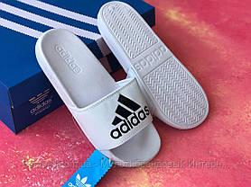 Шльопанці чоловічі білі Adidas / Сланці/шльопанці Adidas (білі) / адідас/, фото 3