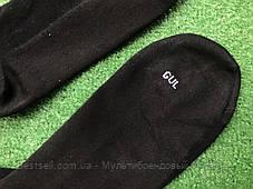 Футбольні гетри без носка + шкарпетки GUL(чорні)/комплект/обрізки/для футболу, фото 2
