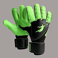 Перчатки вратарские BRAVE GK SKILL GREEN FLASH (размер 9)