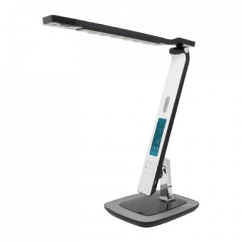 Led лампа настольная 10W AZRA с сенсорным дисплеем Horoz Electric белая