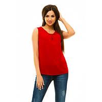 Блуза без рукавов kr (Красный)