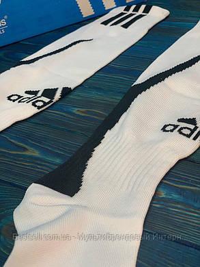 Гетри для футболу Adidas (Білі), фото 2