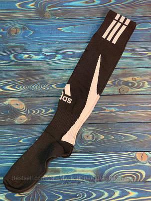 Гетры для футбола Adidas (Черные), фото 2