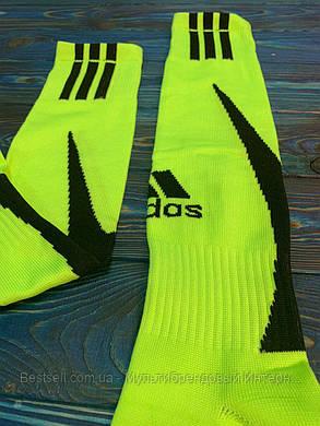 Гетри для футболу Adidas (Салатові), фото 2