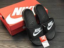 Шлепанцы мужские черные Nike / Сланцы Nike(шлепки,шлепанцы) ( 40 последний размер ), фото 3