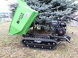 Думпер гусеничний, міні самоскид Zipper ZI-MD500HS, фото 6