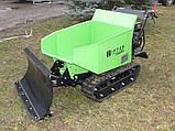 Думпер гусеничний, міні самоскид Zipper ZI-MD500HS, фото 8