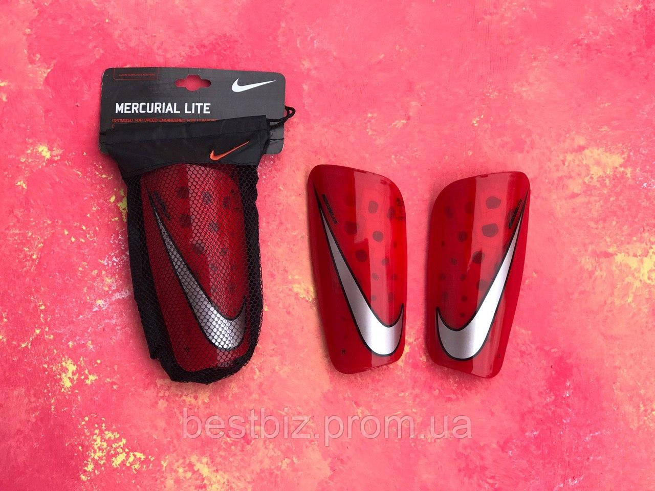 Щитки футбольные Nike Mercurial Lite Guard/найк меркуриал лайт/для футбола