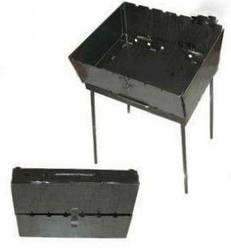 Мангал - валіза пр-під Україна розкладний на 6 шампурів метал 3 мм