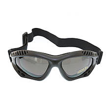 Очки десантные MIL-TEC AIRPRO Black, 15615302
