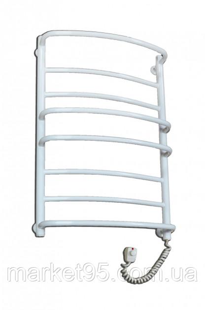 Електрична рушникосушка  Elna Каскад MIX-8 белый  нержавіючий з терморегулятором